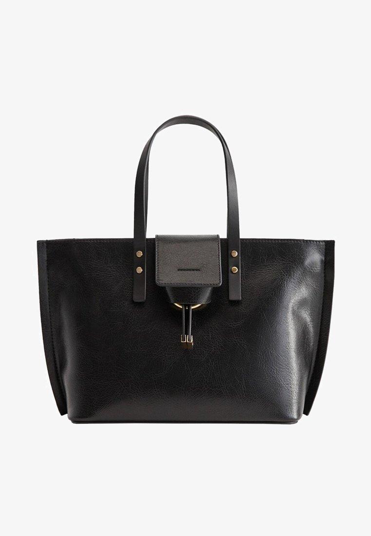 Mango - PAULOVA - Shopping Bag - black