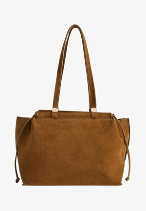 CONNIE - Handbag - medium brown