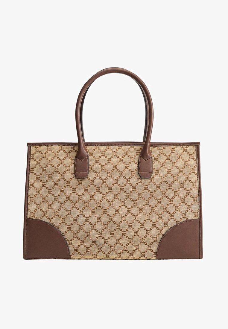 Mango - RIOJA - Handbag - beige