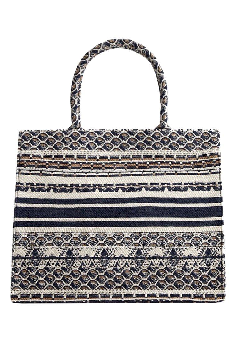 Mango - CAVAS - Shopping Bag - blau