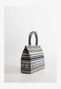 Mango - CAVAS - Shopping Bag - blau - 1