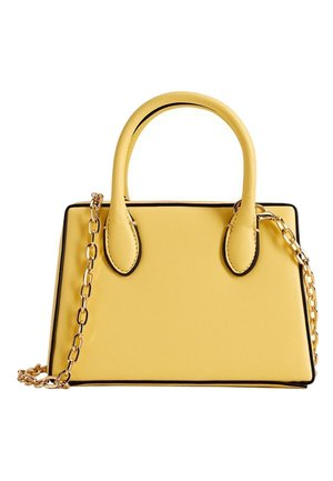 CITY - Handbag - geel