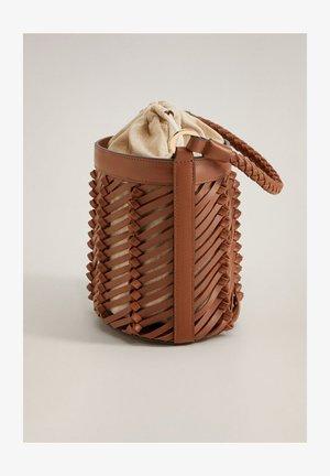 VIGO - Handbag - mittelbraun