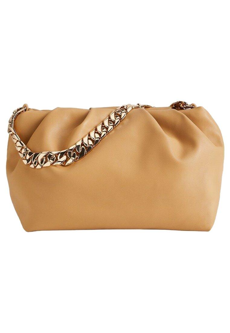 Mango - SLOUCHY - Handbag - mittelbraun