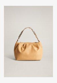 Mango - SLOUCHY - Handbag - mittelbraun - 1
