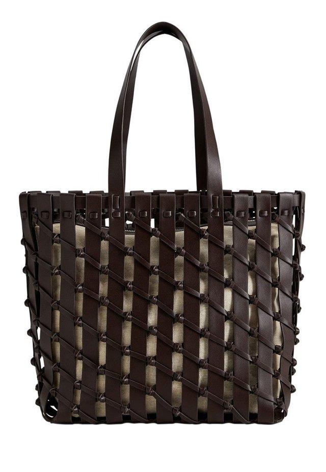 VIGO - Shopping bag - schokolade