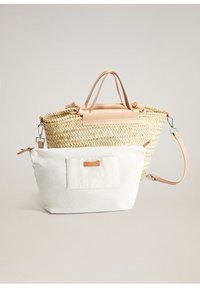 Mango - IBIZA - Shopping Bag - nude - 0