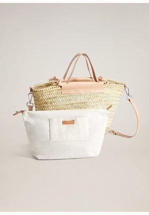 IBIZA - Shopping bag - nude