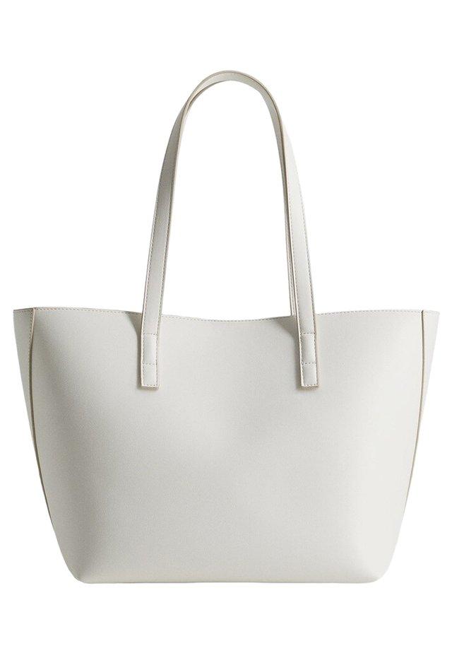 ADHARA - Shoppingväska - blanc cassé