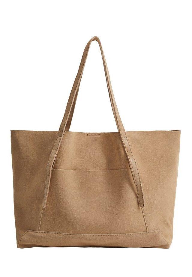 VEGA - Shopping bag - eisgrau