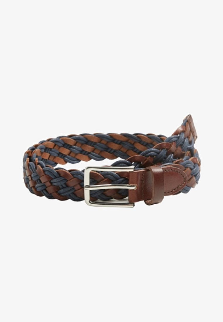 Mango - MIXTURE - Braided belt - brown