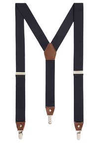 Mango - BASIC - Belt business - dunkles marineblau - 0