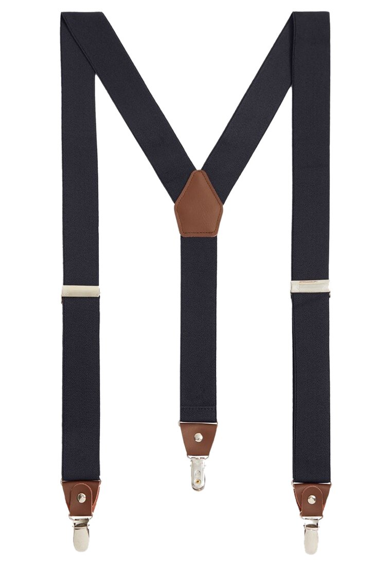 Mango - BASIC - Belt business - dunkles marineblau