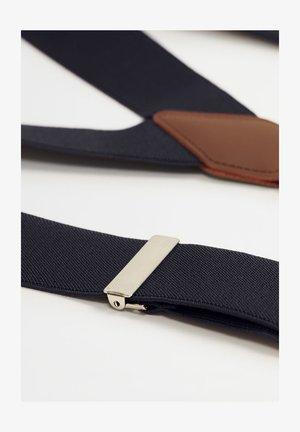 BASIC - Cinturón - dunkles marineblau