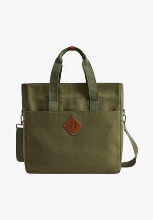 TOTEBAG - Tote bag - khaki