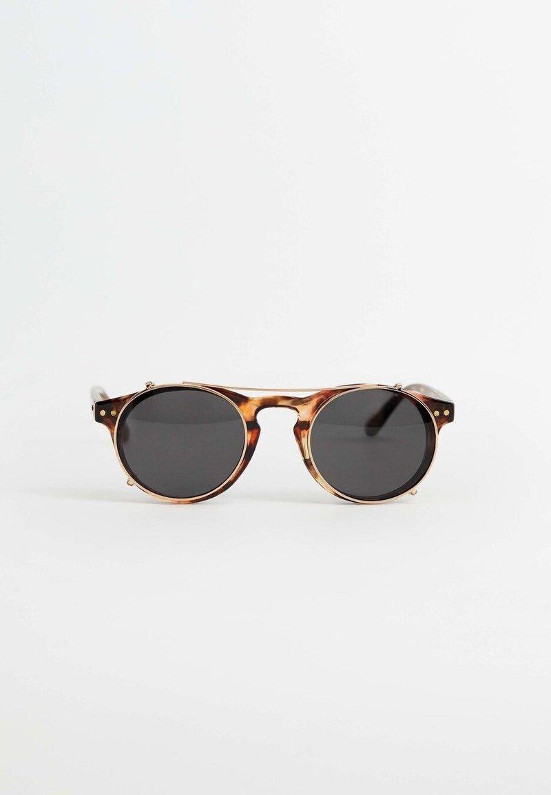 Mango - CLIP - Sonnenbrille - kognac