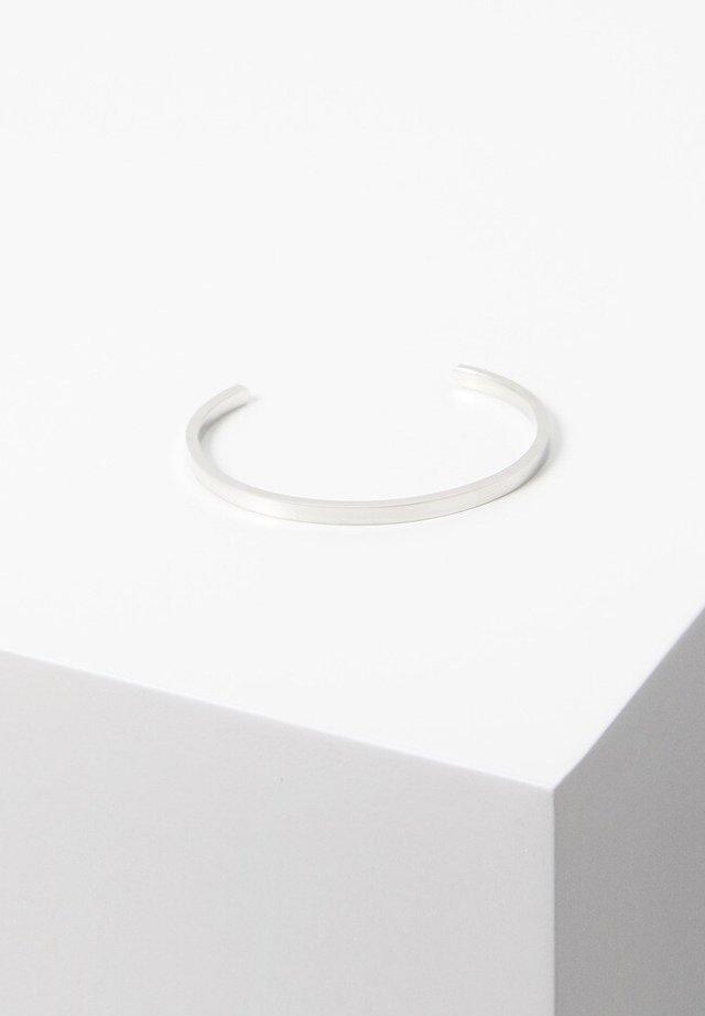 ARMREIF AUS INOX-STAHL - Bracelet - silber