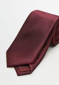 Mango - BASIC - Cravatta - bordeaux - 2