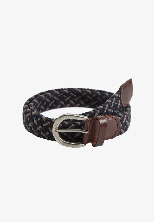 Cintura intrecciata - gris