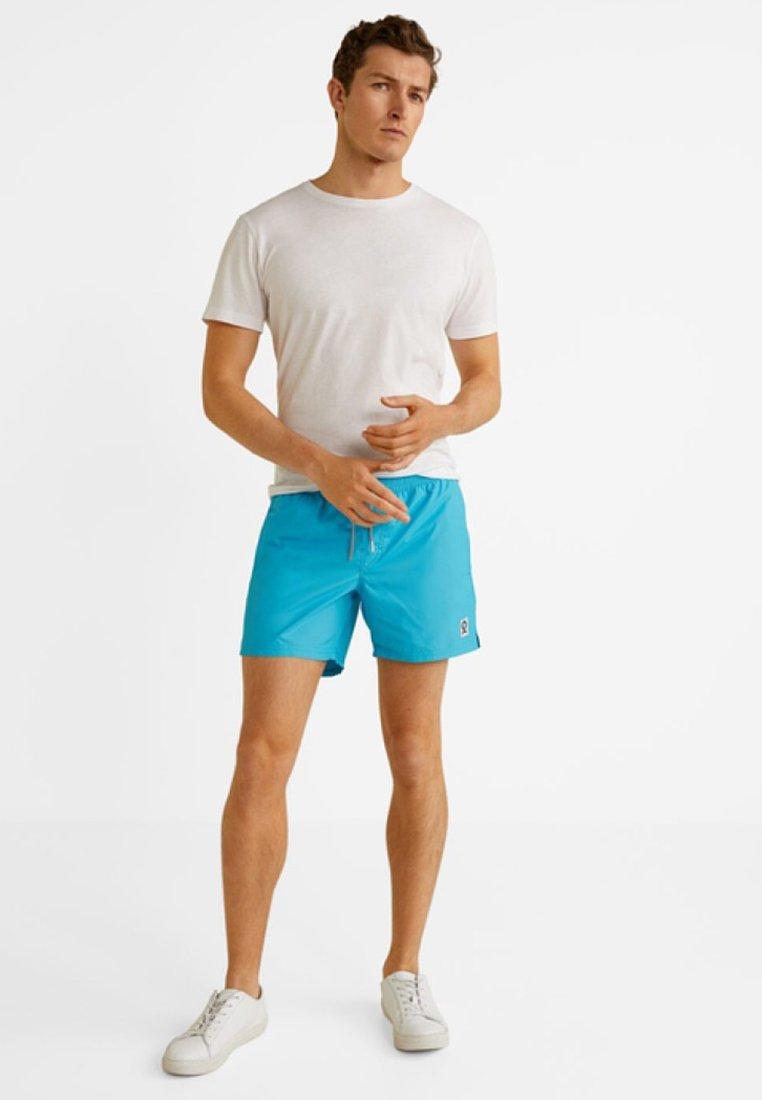 Mango - FERO - Shorts - blue