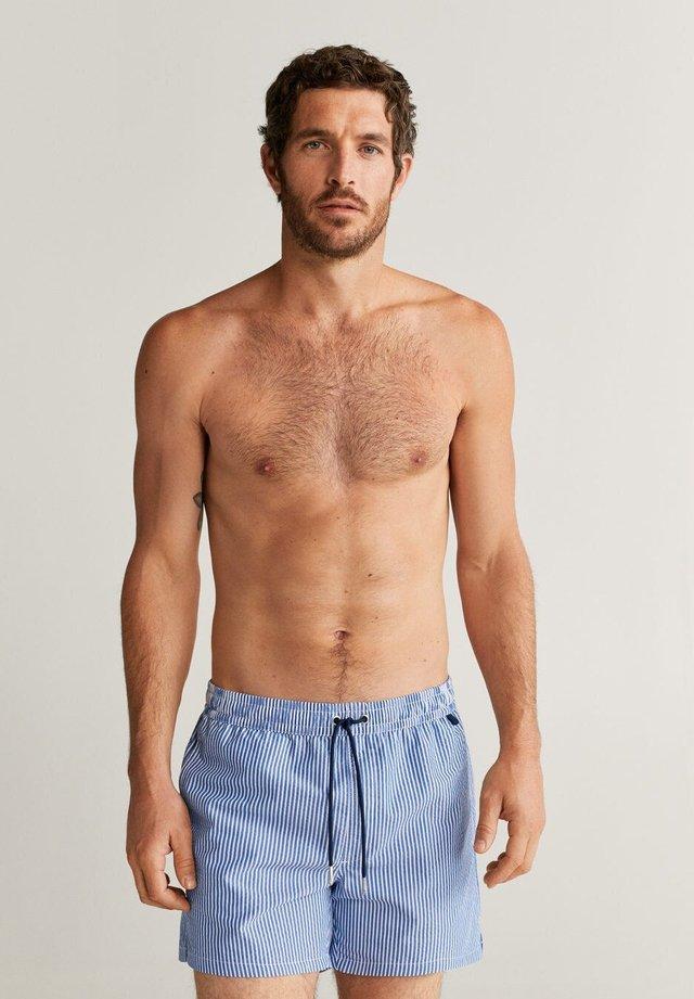 SEERBLUE - Swimming shorts - blau