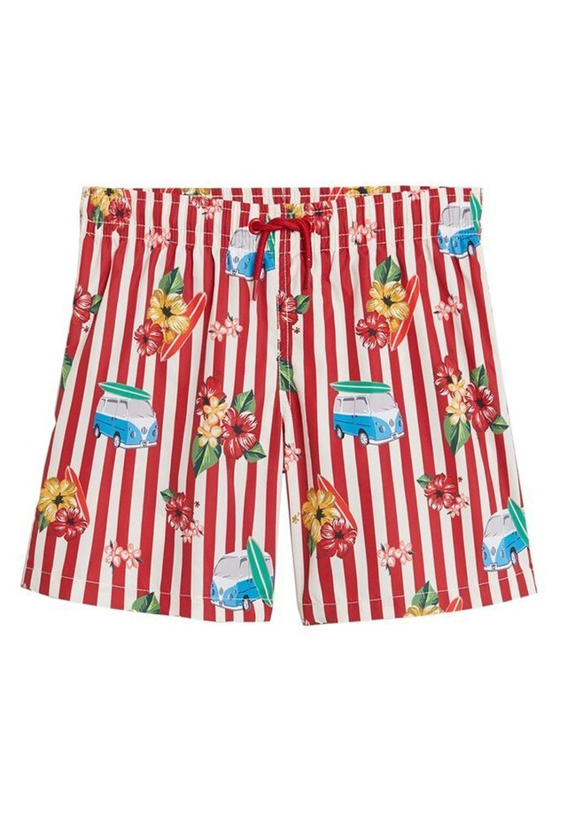 VAN - Shorts da mare - red