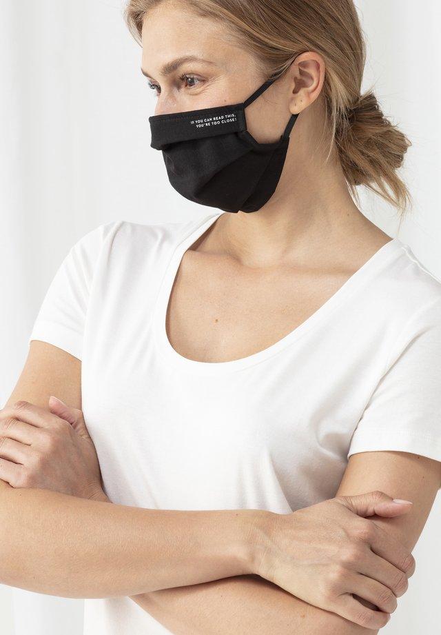 Community mask - schwarz