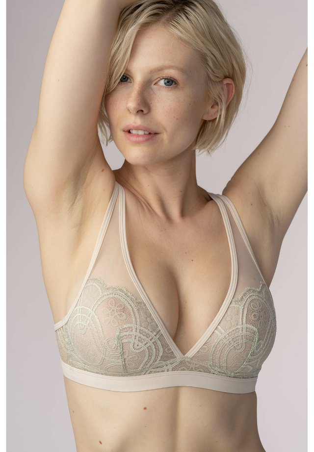 Triangle bra - new pearl