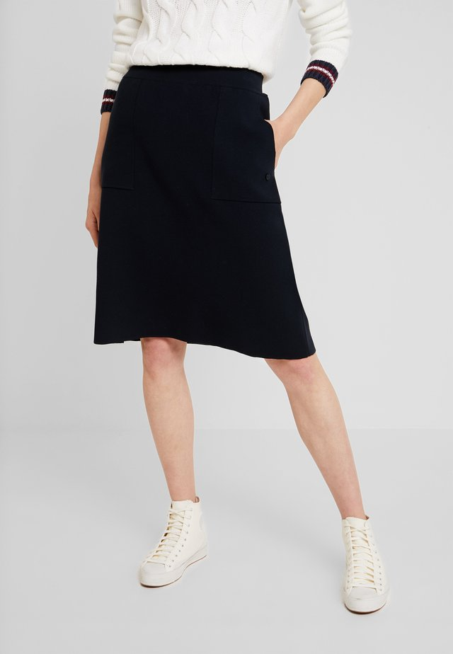 A-snit nederdel/ A-formede nederdele - navy