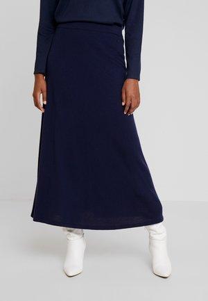 Długa spódnica - midnight blue