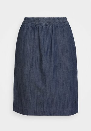 KURZ - Spódnica trapezowa - marine blue