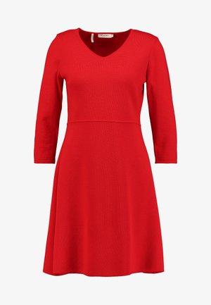 Jumper dress - just red