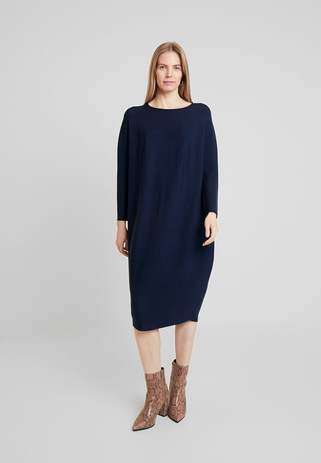 Pletené šaty - new indigo