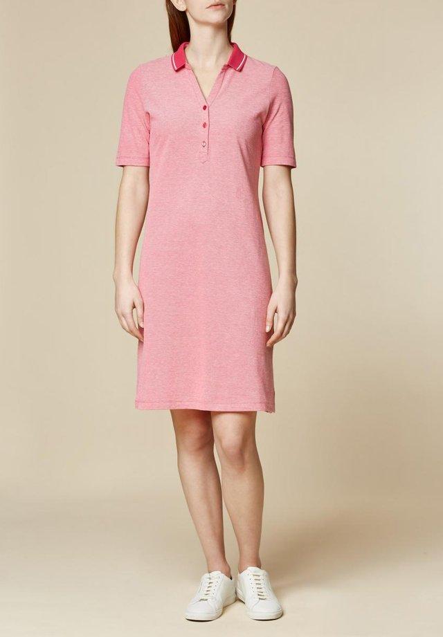 Jersey dress - magenta