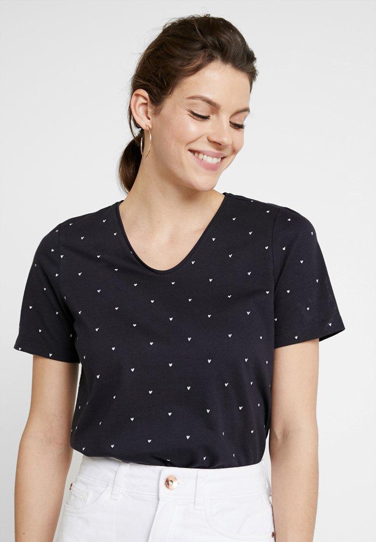 MAERZ Muenchen - Print T-shirt - navy