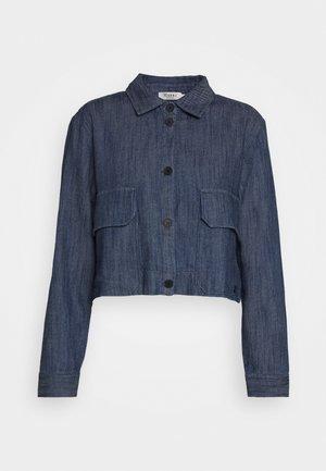 BLOUSON - Denim jacket - marine blue