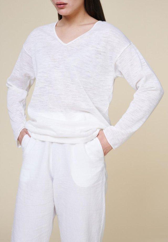 Jumper - pure white