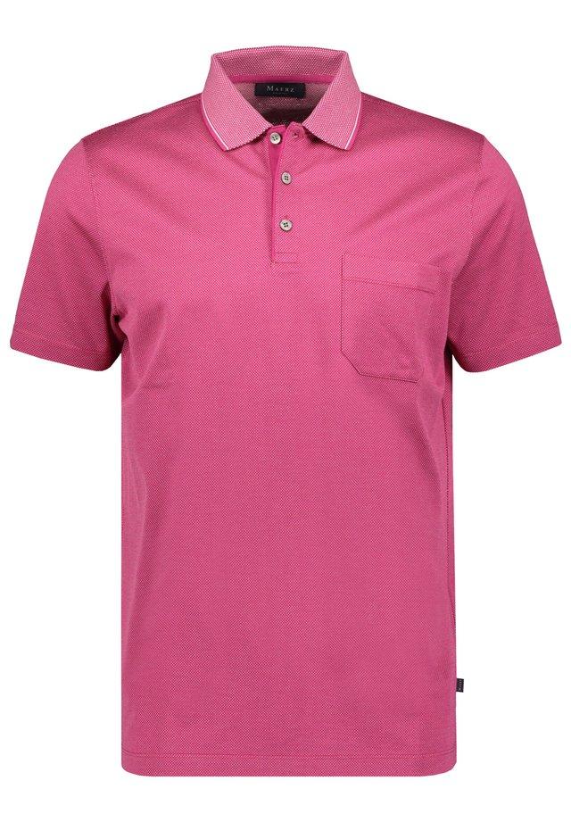 MAERZ MUENCHEN HERREN POLOSHIRT KURZARM - Polo shirt - pink (315)