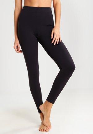 FAT FREE DRESSING  - Leggings - black