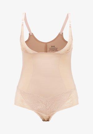 CURVY FIRM FOUNDATIONS BODYBRIEFER - Body - body beige