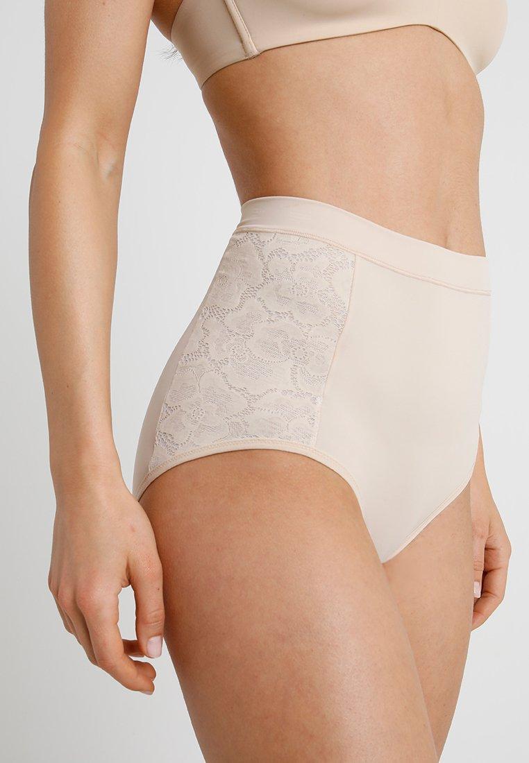 Maidenform - FIRM FOUNDATIONS TAME YOUR TUMMY BRIEF - Stahovací prádlo - nude