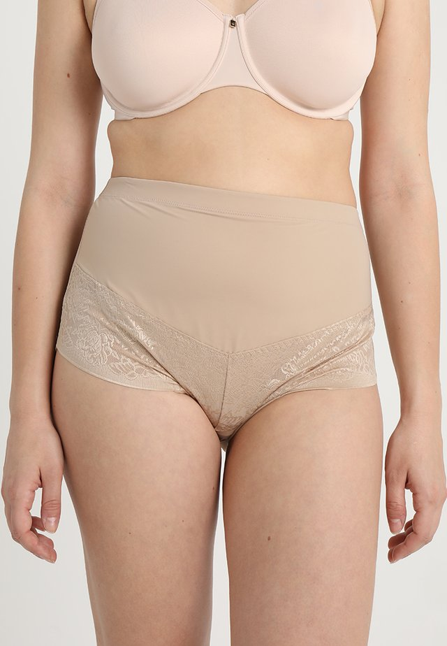 CURVY FIRM FOUNDATIONS AT WAIST BRIEF - Stahovací prádlo - body beige