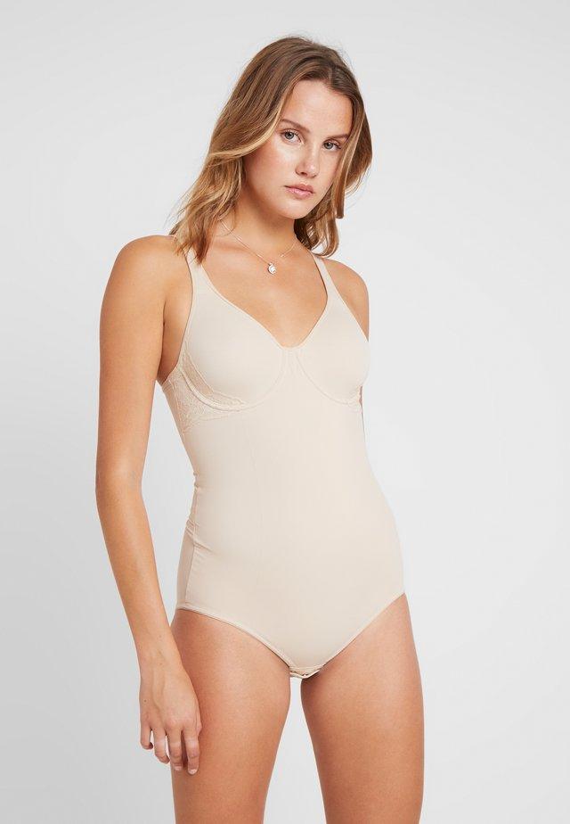 BUILT IN BRA BODY SHAPER - Body / Bodystockings - nude