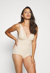 Maidenform - EASY GLIDE ON AND OFF LOW BACK COOL COMFORT - Badpak - nude - 1