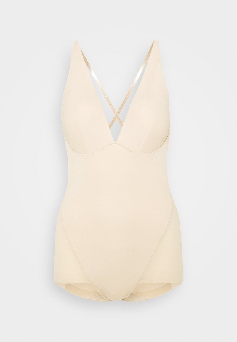 Maidenform - EASY GLIDE ON AND OFF LOW BACK COOL COMFORT - Badedrakt - nude