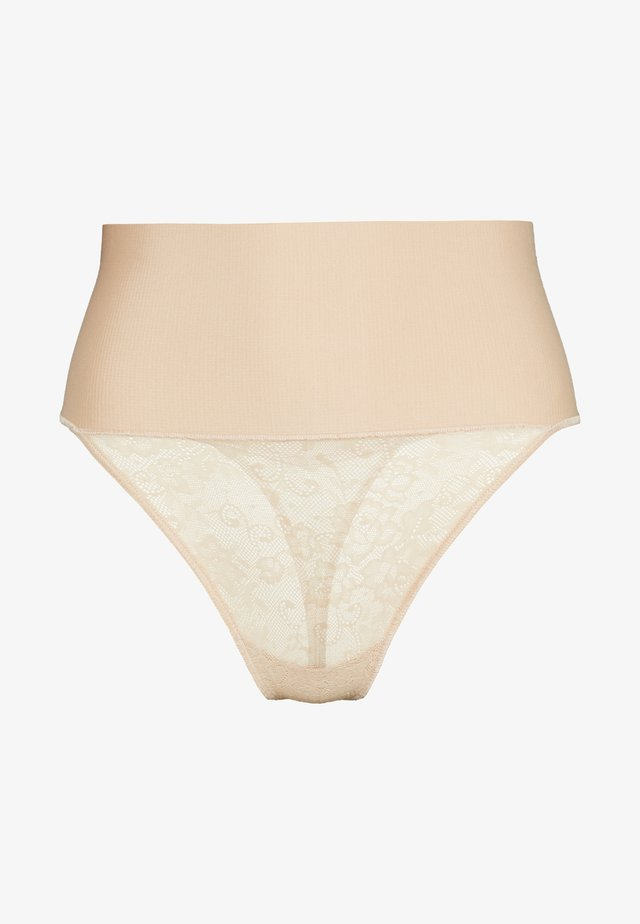 MISSY THONG - Intimo modellante - nude