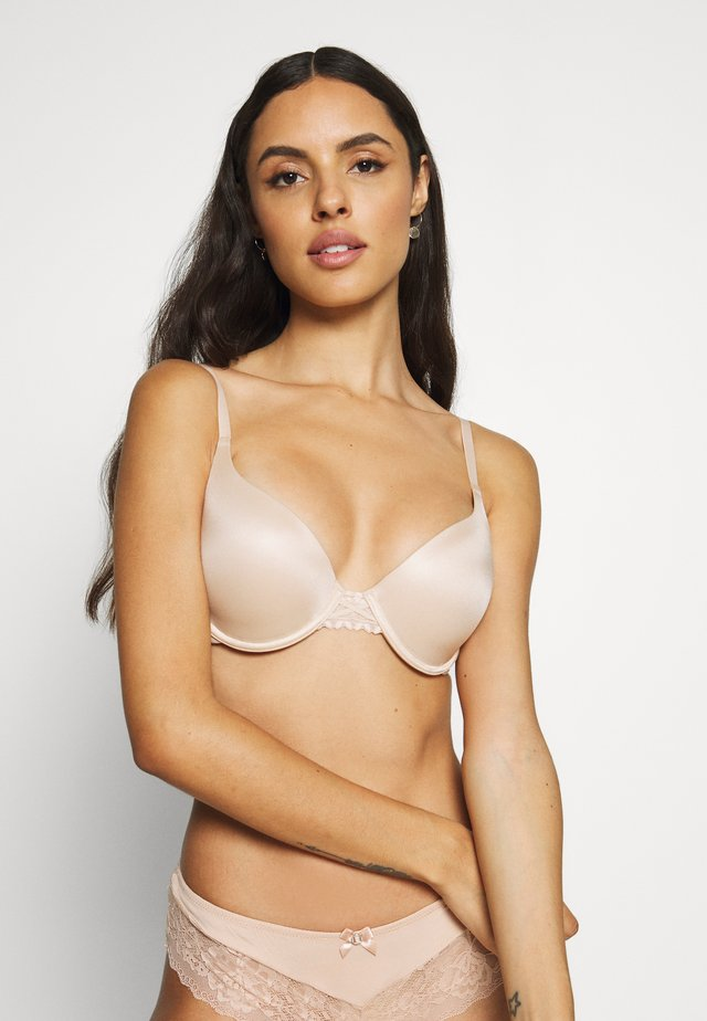 DREAM WIRE PUSH UP BRA - T-Shirt BH - paris nude