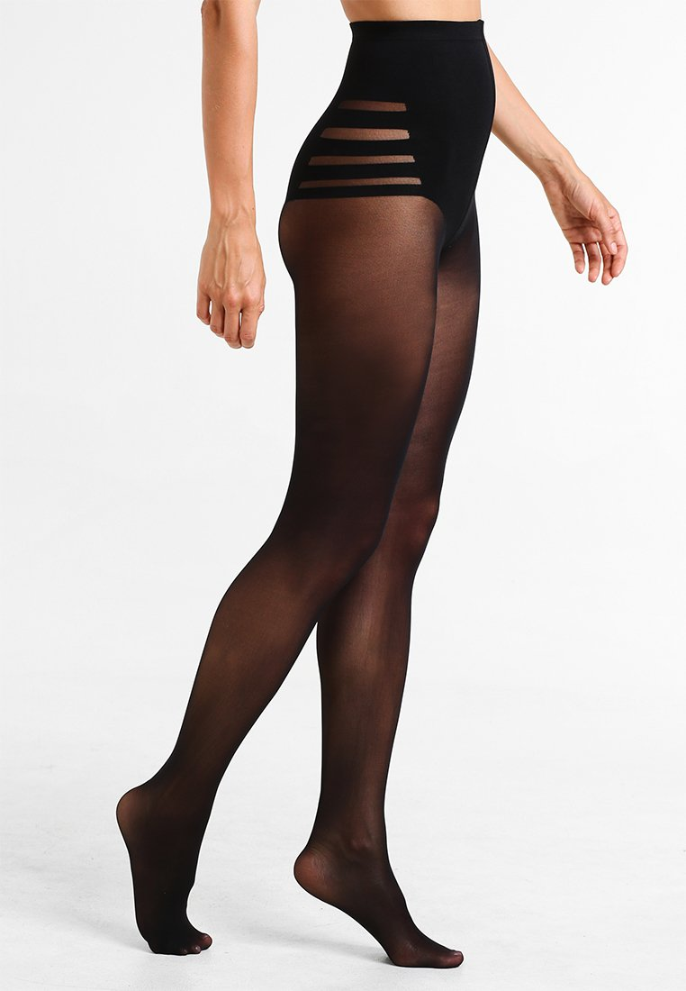 Maidenform - SEXY SHAPING HOSIERY HI-WAIST HOURGLASS 40 DEN APPEARANCE - Tights - black