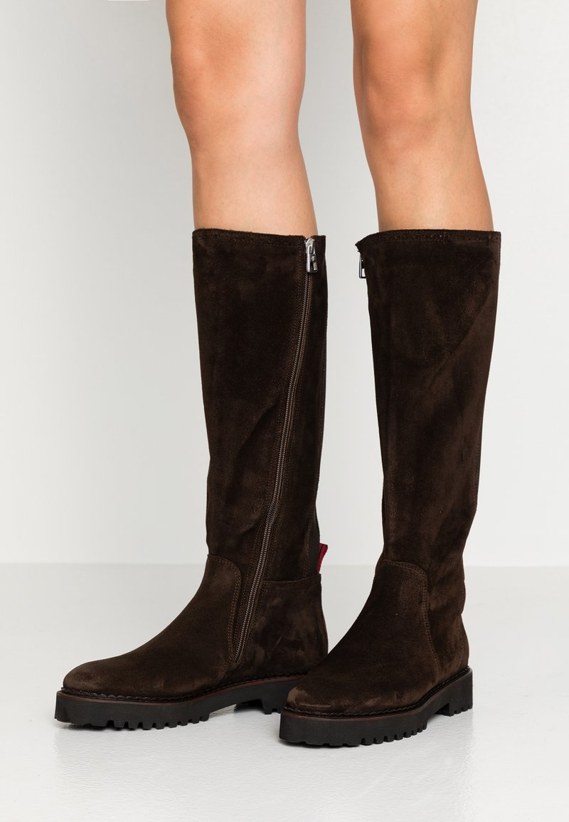 Marc O'Polo - Stiefel - dark brown