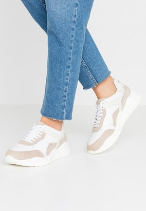 MASSIMA - Sneaker low - white/sand